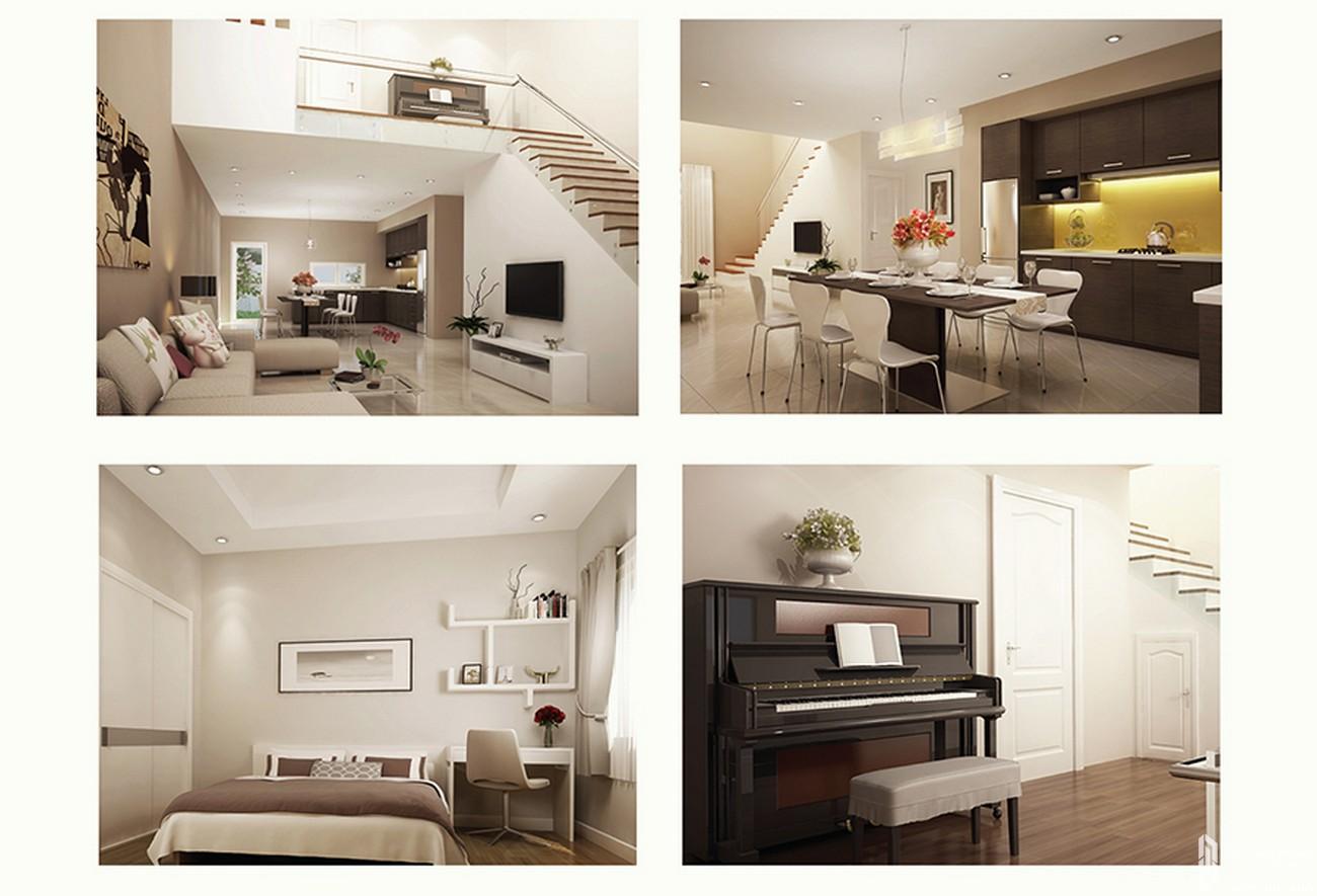 Nhà mẫu dự án nhà phố Mega Residence Quận 9 Đường Vành Đai Trong chủ đầu tư Khang Điền
