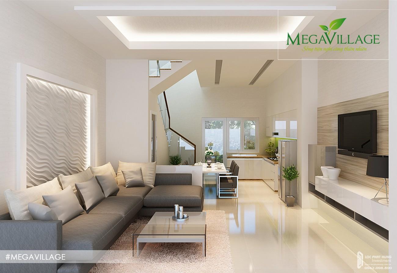 Nhà mẫu dự án nhà phố Mega Village Quận 9 Đường Vành Đai Trong chủ đầu tư Khang Điền