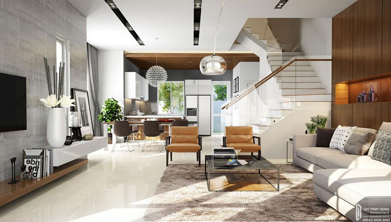 Nhà mẫu dự án nhà phố Melosa Garden Quận 9 Đường Vành Đai Trong chủ đầu tư Khang Điền