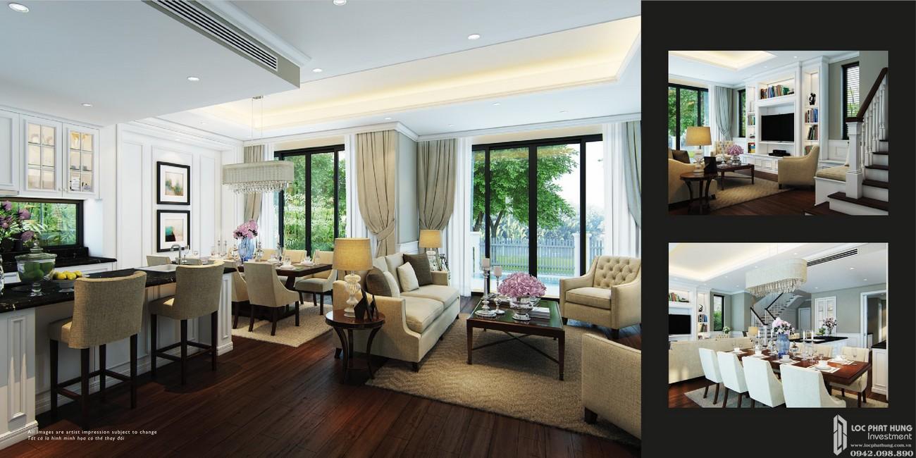Nhà mẫu dự án nhà phố Nine South Estates Nhà Bè Đường Nguyễn Hữu Thọ chủ đầu tư VinaCapital