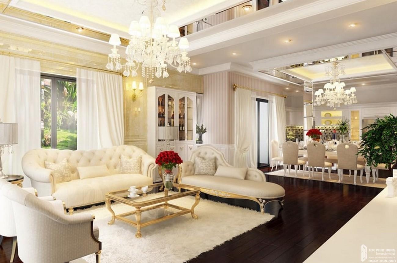 Nội thất dự án nhà phố Nine South Estates Nhà Bè Đường Nguyễn Hữu Thọ chủ đầu tư VinaCapital