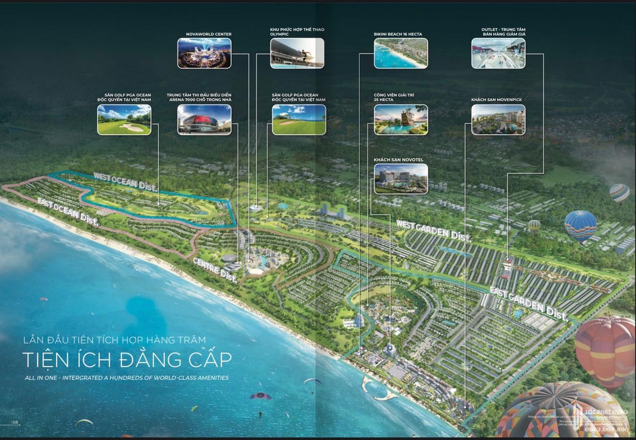 Phối cảnh tổng thể dự án Nhà phố Biệt thự Novaworld Đà Lạt Lâm Đồng nhà phát triển Novaland