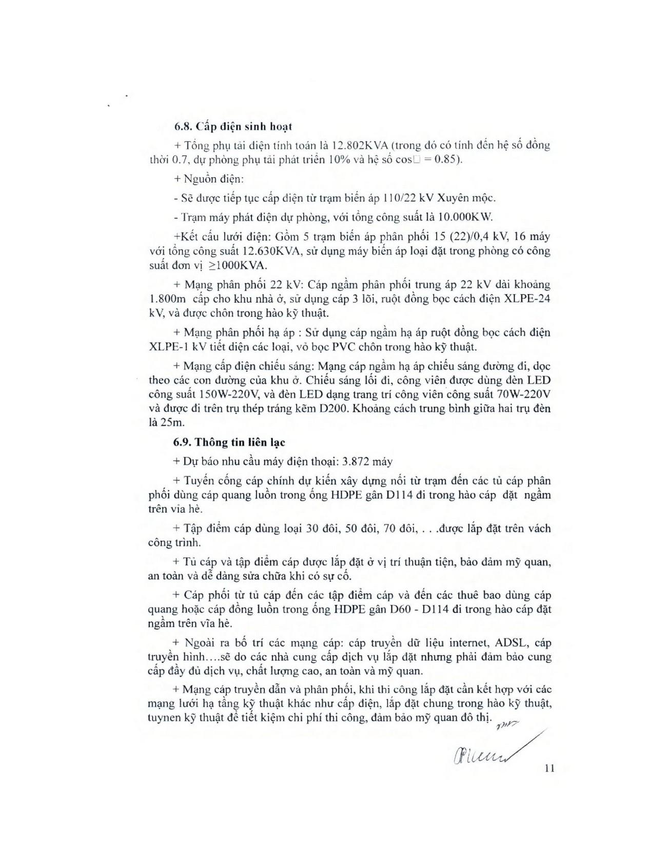 Pháp lý dự án căn hộ Hồ Tràm Pearl Hưng Thịnh: Phê duyệt quy hoạch 1/500