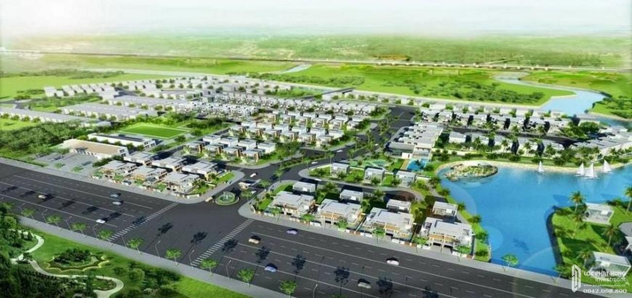 Phối cảnh tổng thể dự án Biệt thự Lucasta Quận 9 Đường Liên Phường chủ đầu tư Khang Điền