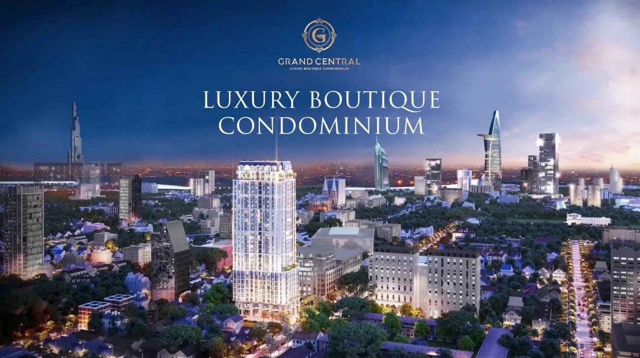 Phối cảnh dự án căn hộ chung cư Grand Central Quận 3 Đường Nam Kỳ Khởi Nghĩa chủ đầu tư Hồng Hà