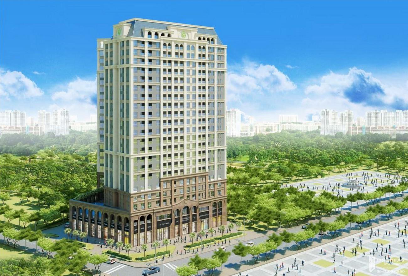 Phối cảnh tổng thể dự án căn hộ chung cư Garden Gate Phú Nhuận Đường Hoàng Minh Giám chủ đầu tư Novaland