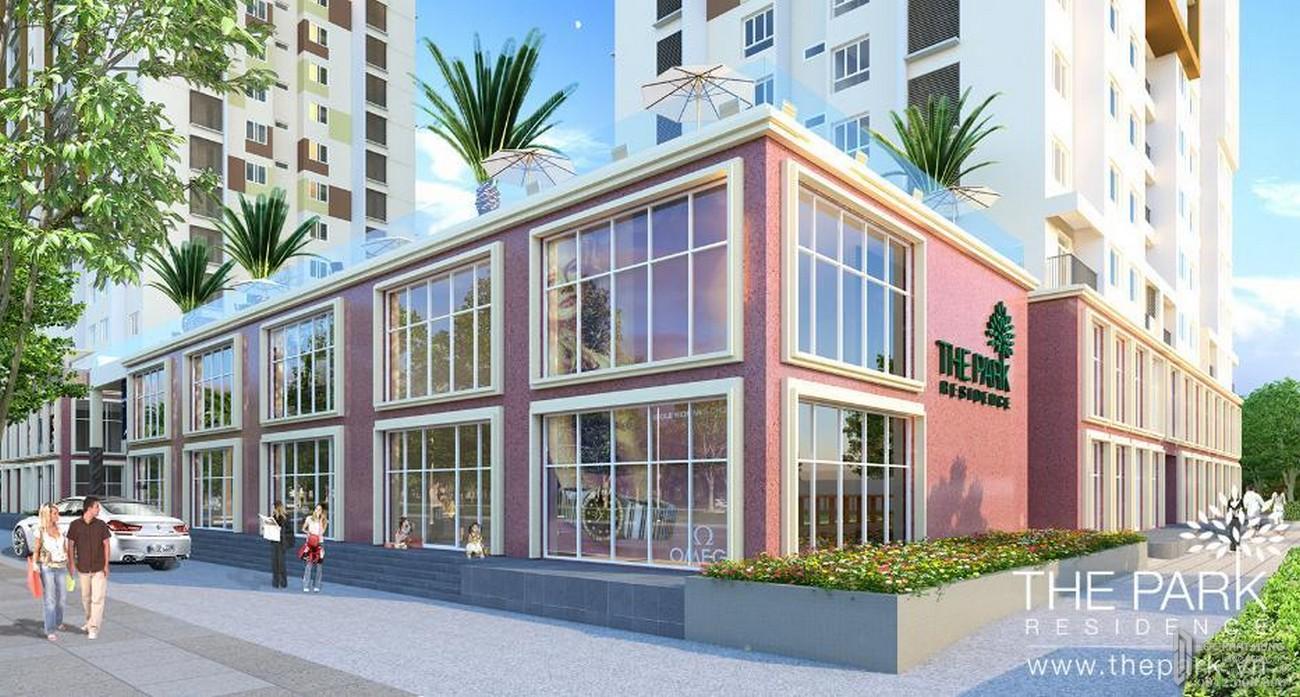 Phối cảnh tổng thể dự án căn hộ chung cư The Park Residence Nhà Bè Đường Nguyễn Hữu Thọ chủ đầu tư Phú Hoàng Anh