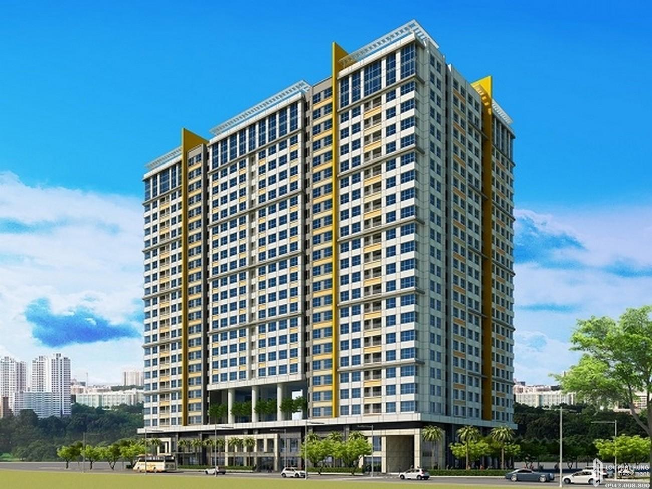 Phối cảnh tổng thể dự án căn hộ chung cư Galaxy 9 Quận 4 Đường Nguyễn Khoái chủ đầu tư Novaland