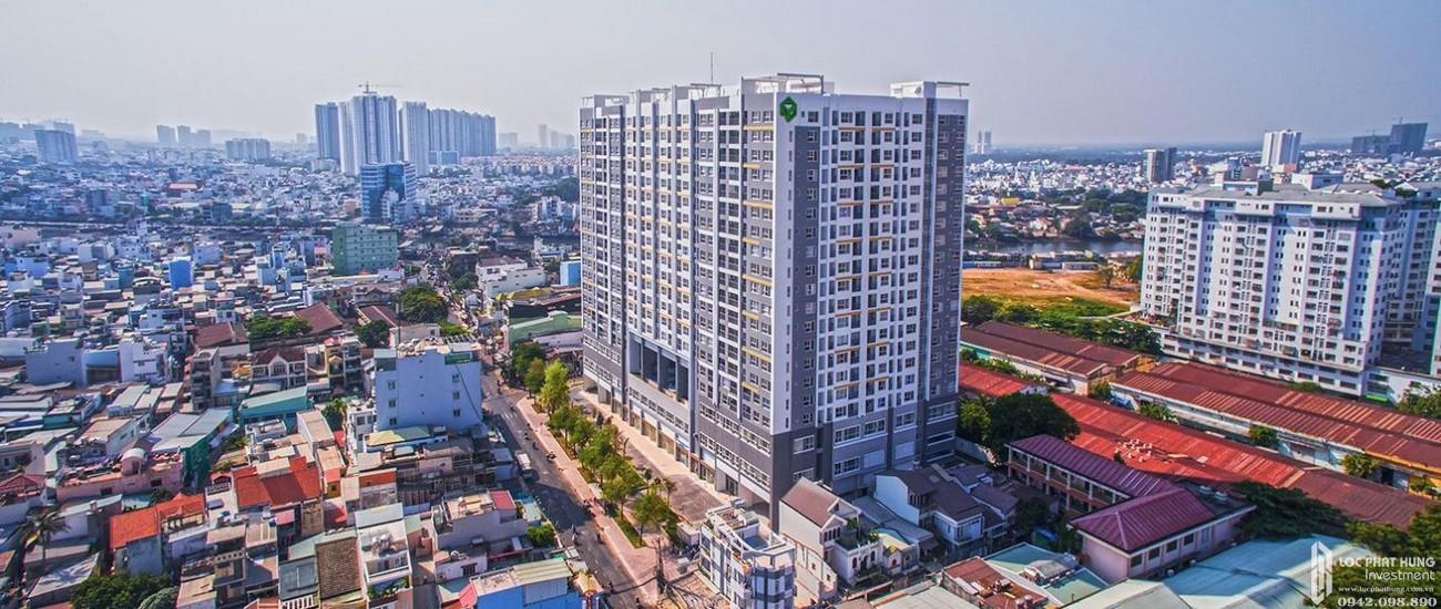 Phối cảnh tổng thể dự án căn hộ chung cư Galaxy 9 Quận 4 Đường Nguyễn Khoái nhà phát triển Novaland