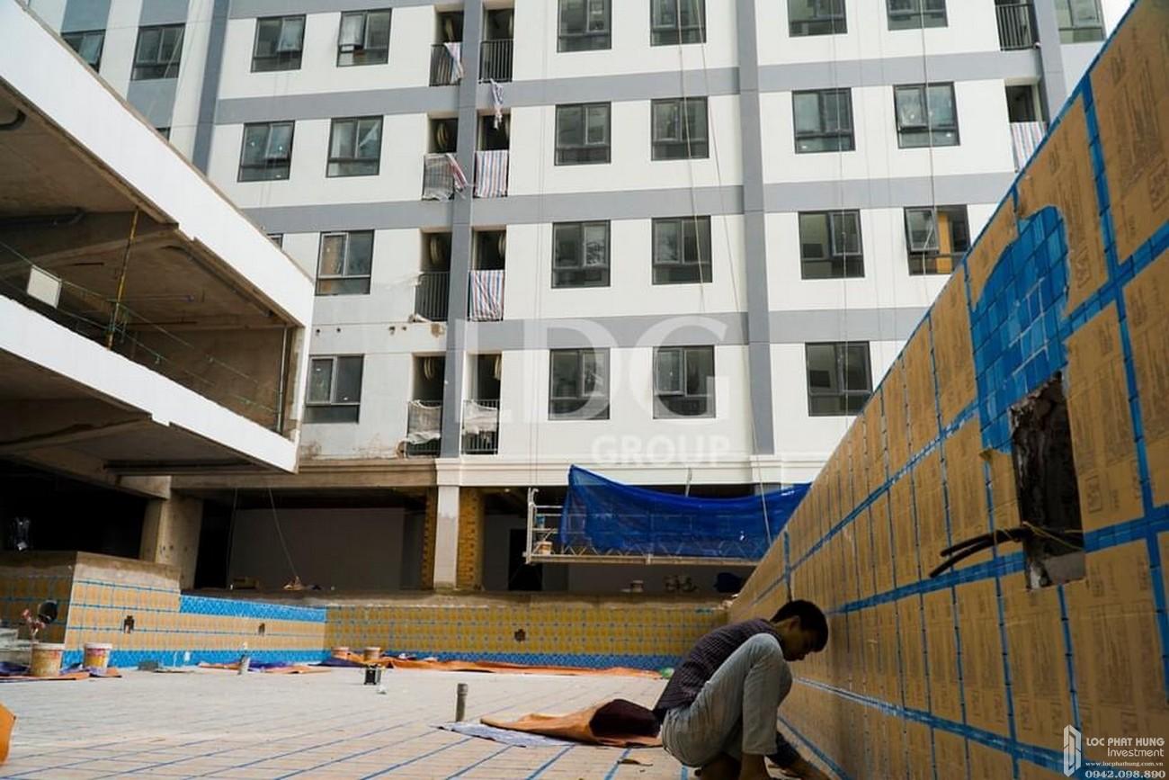Phối cảnh thực tế dự án căn hộ chung cư Sài Gòn Intela