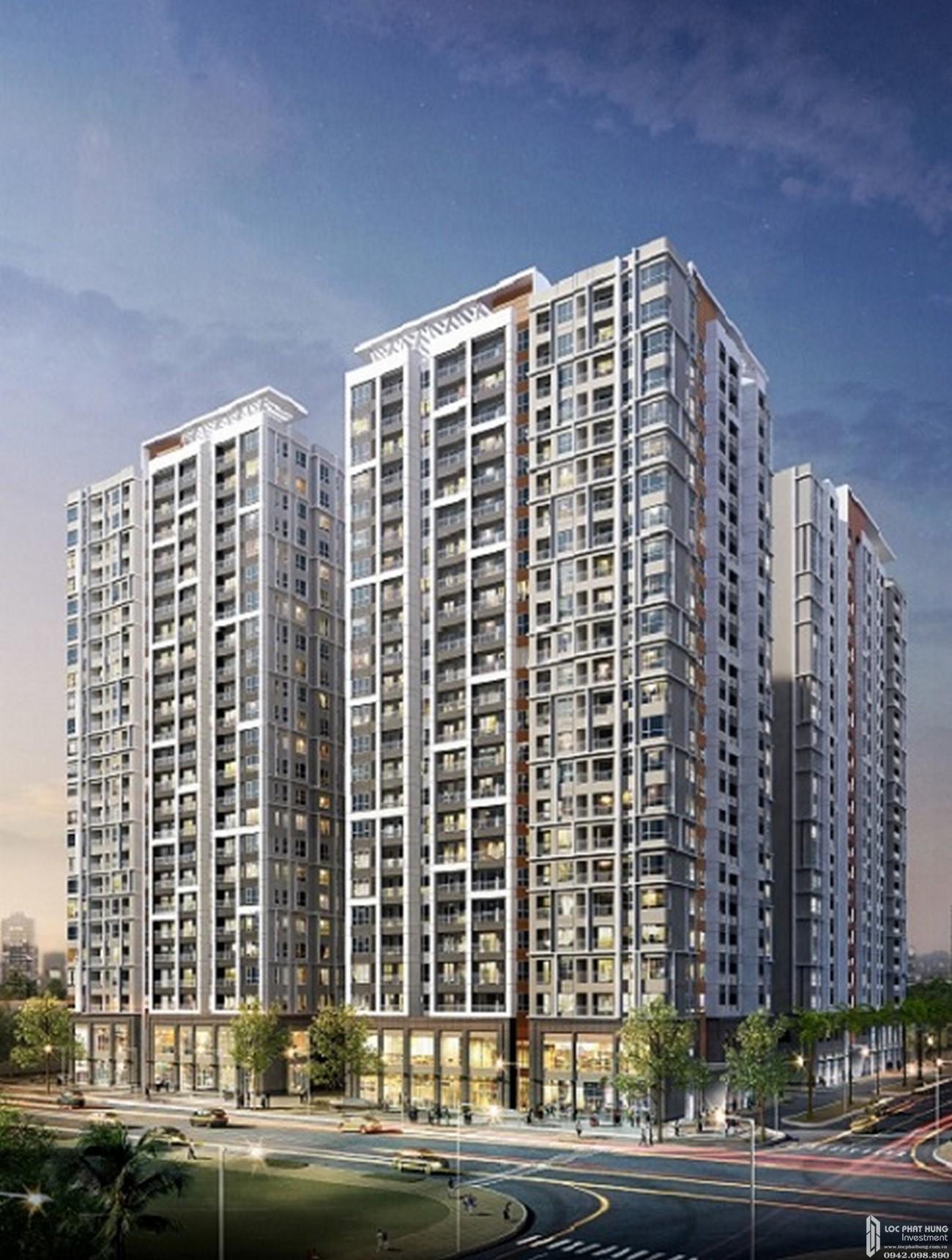 Phối cảnh tổng thể dự án căn hộ chung cư Victoria Village Quận 2 Đường Đồng Văn Cống chủ đầu tư Novaland