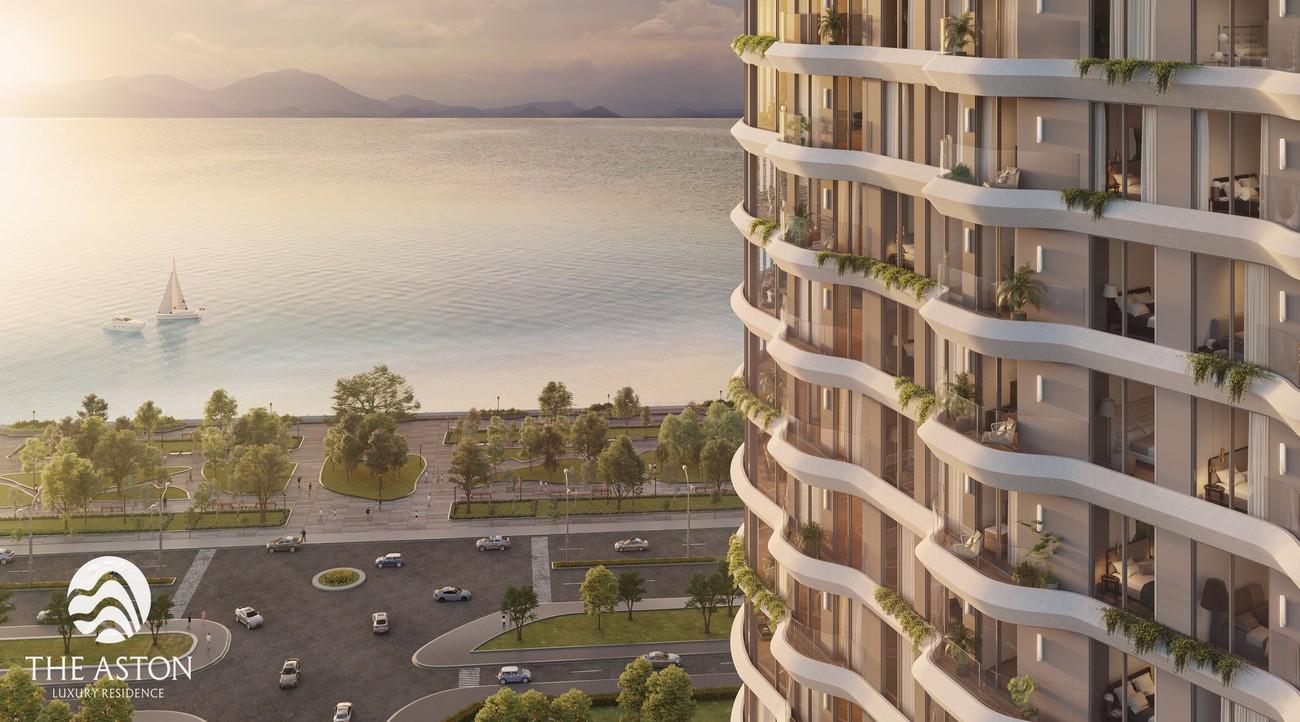 Phối cảnh tổng thể dự án căn hộ The Aston Residence Nha Trang