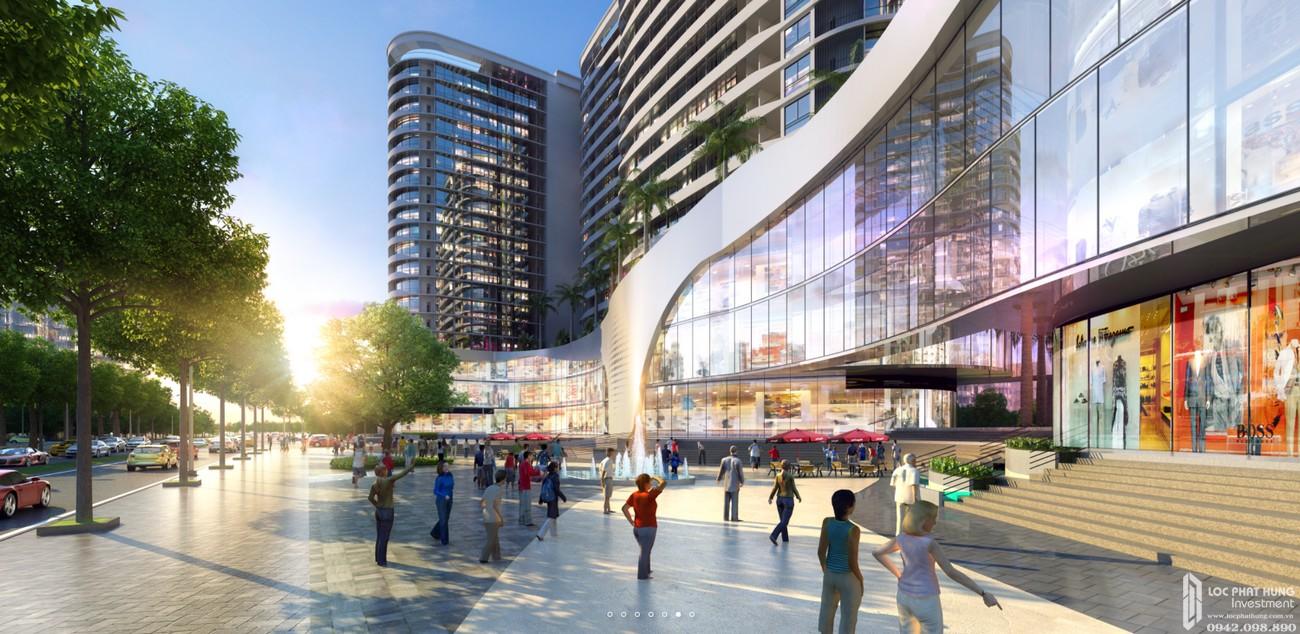 Phối cảnh Trung tâm thương mại căn hộ Vạn Phúc City Quận Thủ Đức Đường Quốc lộ 13 chủ đầu tư Vạn Phúc Group