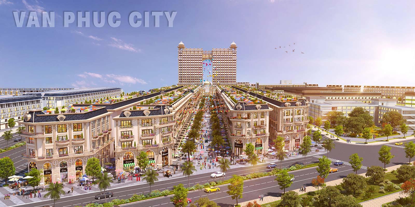 Phối cảnh dự án Khu Đô Thị Vạn Phúc City Quận Thủ Đức Đường Quốc lộ 13 chủ đầu tư Vạn Phúc Group