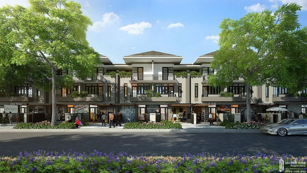 Phối cảnh tổng thể dự án nhà phố Lavila De Rio Nhà Bè Đường Nguyễn Hữu Thọ chủ đầu tư Kiến Á