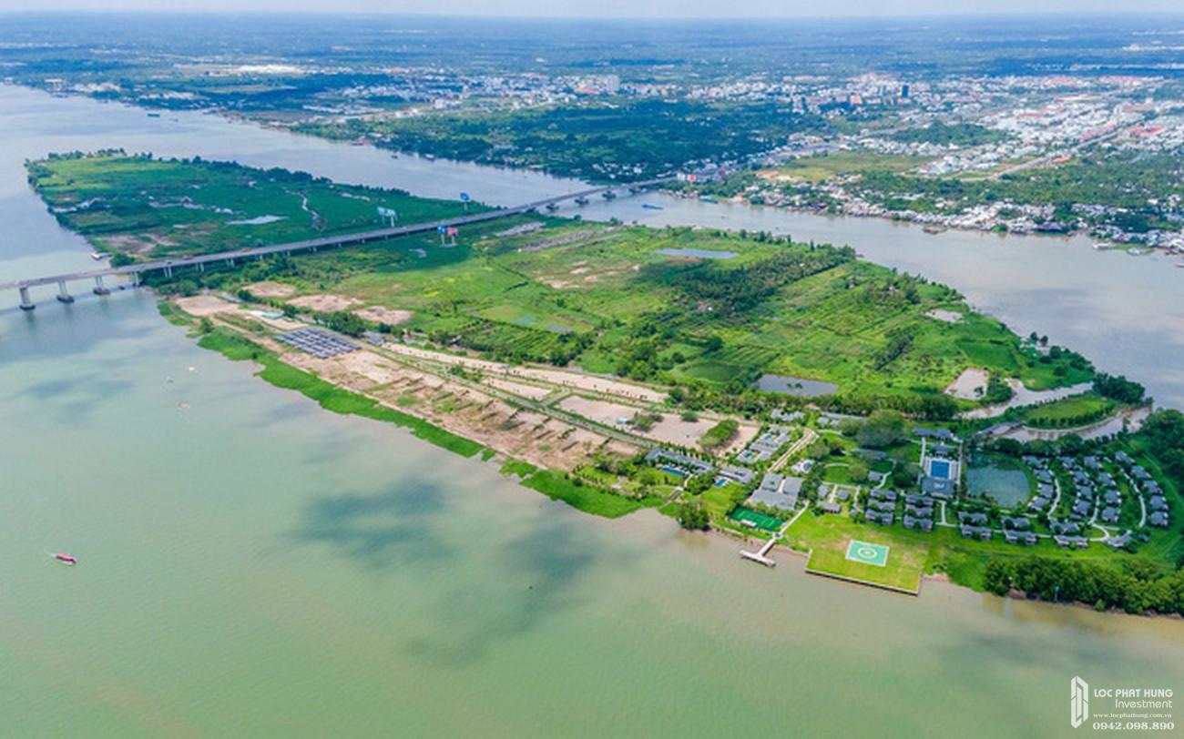 Phối cảnh dự án Novaworld Mekong Cần Thơ  Cồn Ấu chủ đầu tư Novaland