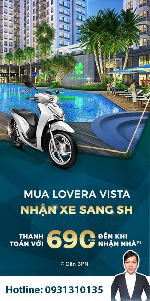 Đăng ký sự kiện mở bán Lovera Vista
