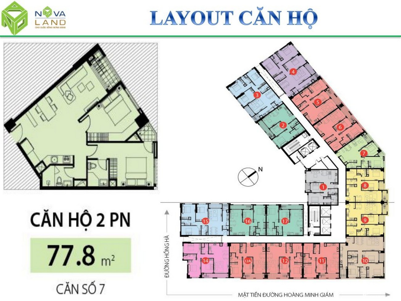 Thiết kế dự án căn hộ chung cư Garden Gate Phú Nhuận Đường Hoàng Minh Giám chủ đầu tư Novaland