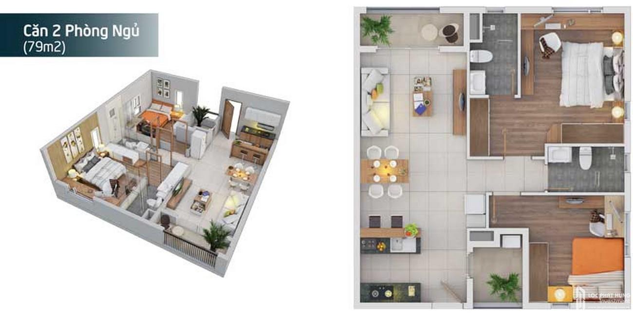 Thiết kế dự án căn hộ chung cư Sky Symphony Nhà Bè Đường Lê Văn Lương chủ đầu tư Khải Hoàn Land