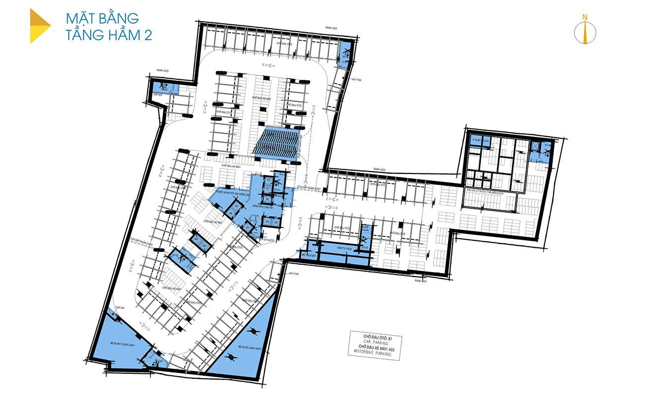Thiết kế chi tiết căn hộ dự án D-Homme Quận 6 đường Hồng Bàng