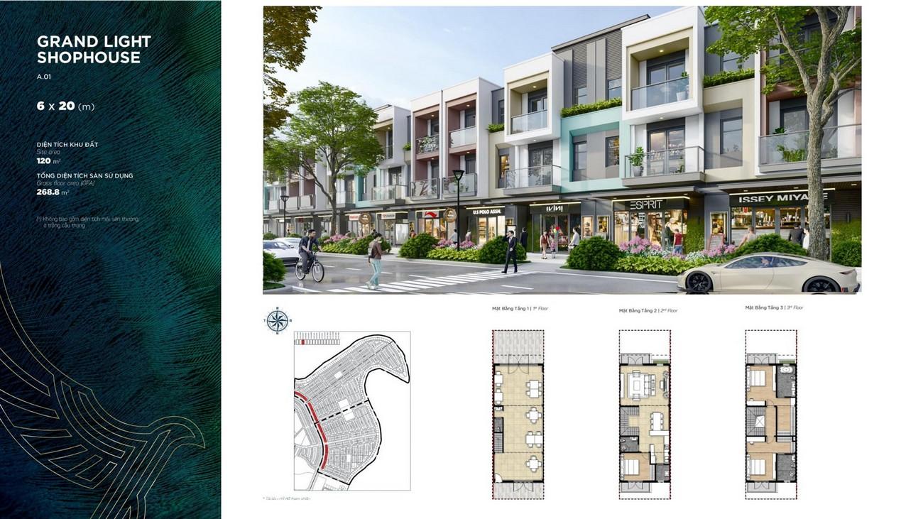 Thiết kế dự án The Phoenix South Biên Hòa Đồng Nai chủ đầu tư NovaLand