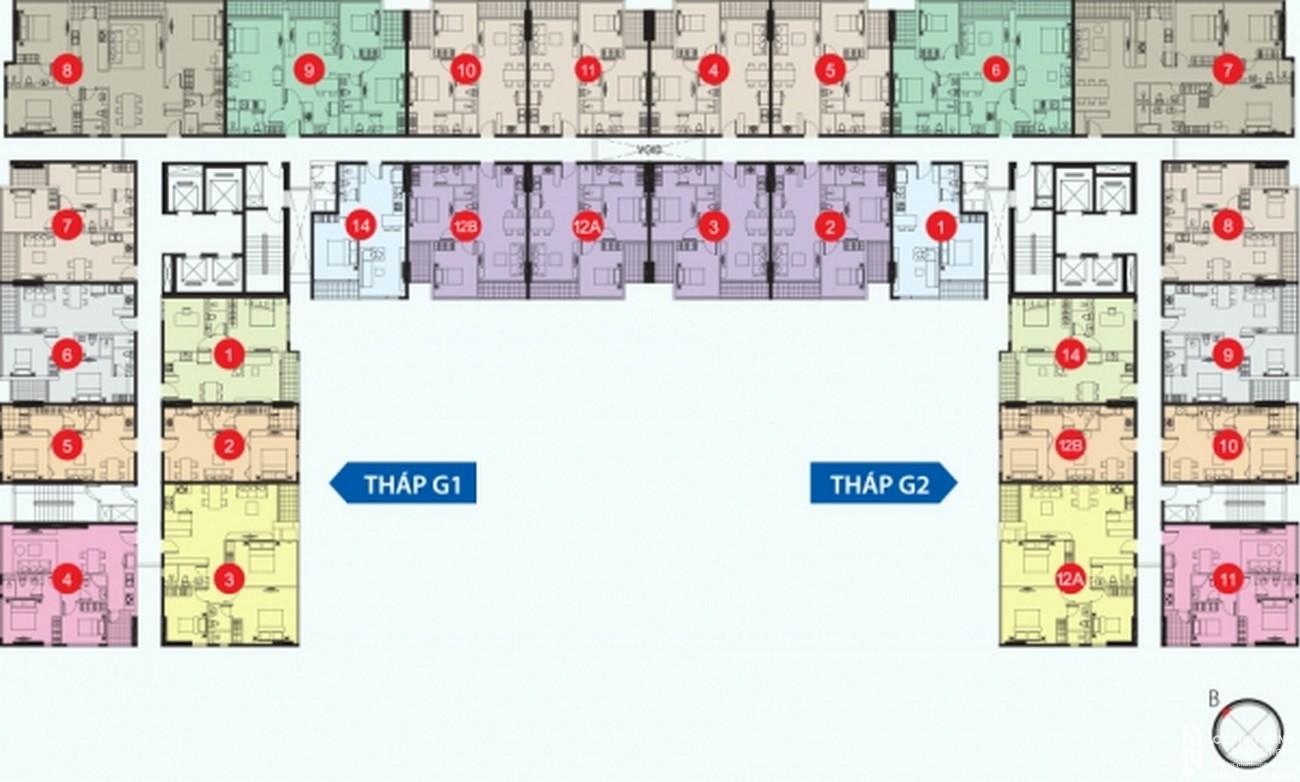 Thiết kế dự án căn hộ chung cư Galaxy 9 Quận 4 Đường Nguyễn Khoái chủ đầu tư Novaland