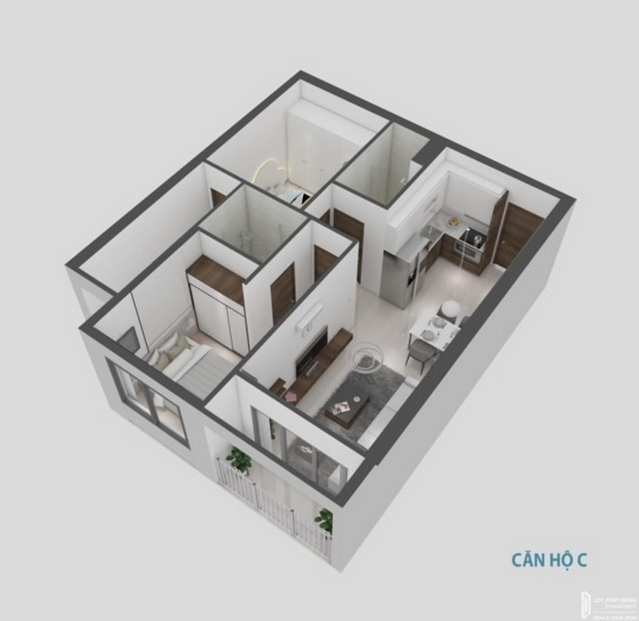 Thiết kế dự án căn hộ chung cư Goldora Plaza Nhà Bè Đường Lê Văn Lương chủ đầu tư Tematco