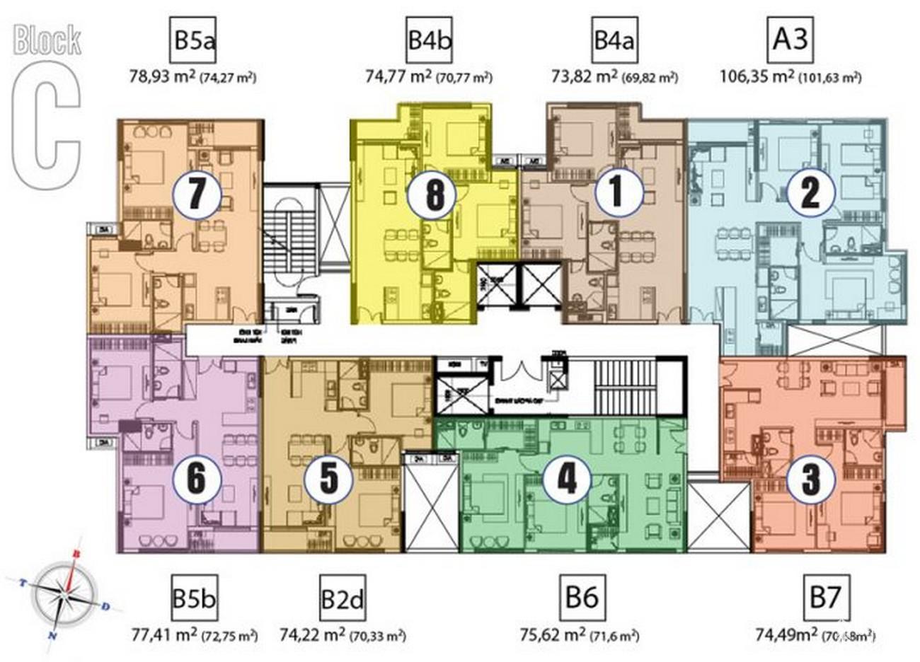 Thiết kế dự án căn hộ chung cư Hưng Phát Silver Star Nhà Bè Đường Nguyễn Hữu Thọ chủ đầu tư Hưng Lộc Phát