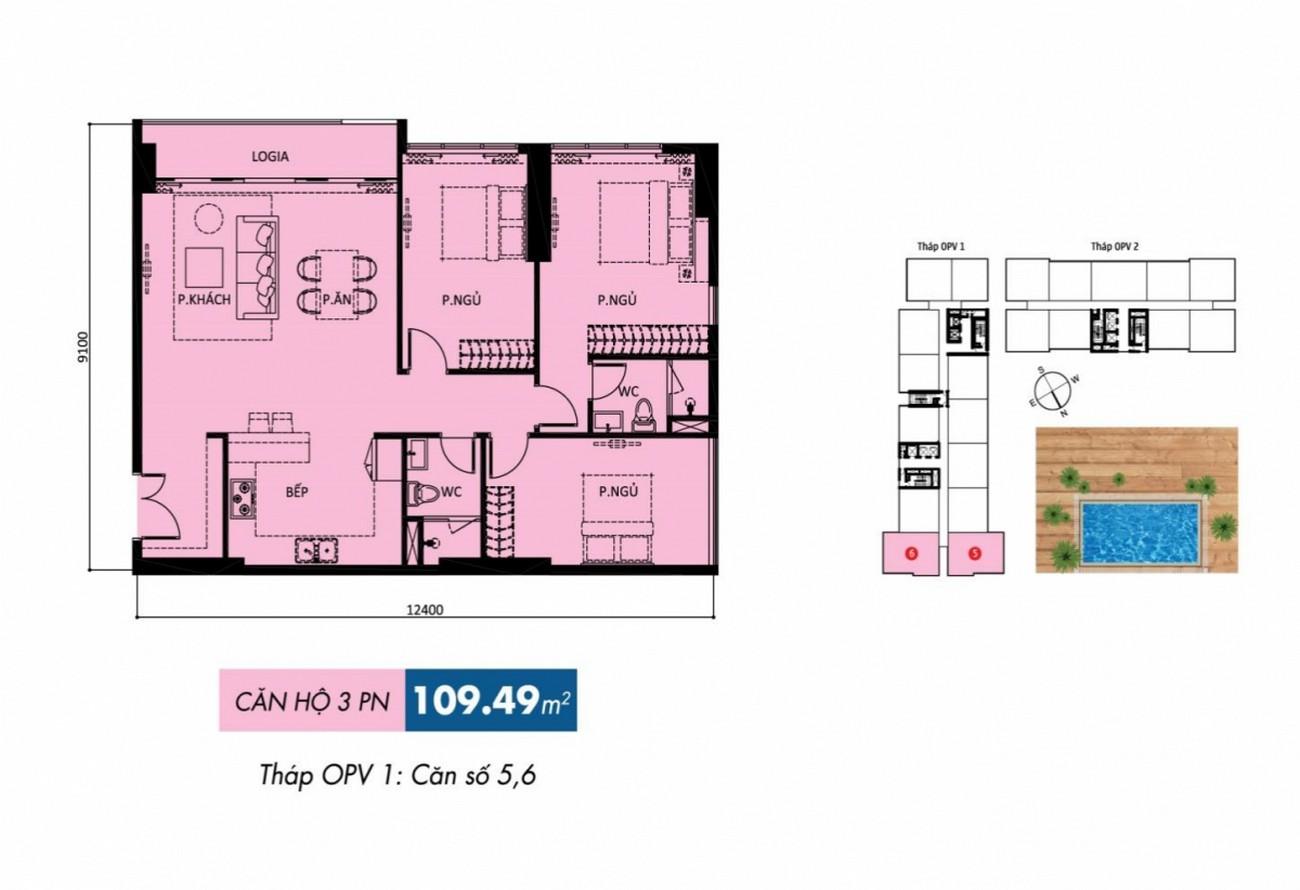 Thiết kế dự án căn hộ chung cư Orchard Parkview Phú Nhuận Đường 130 - 132 Hồng Hà chủ đầu tư Novaland