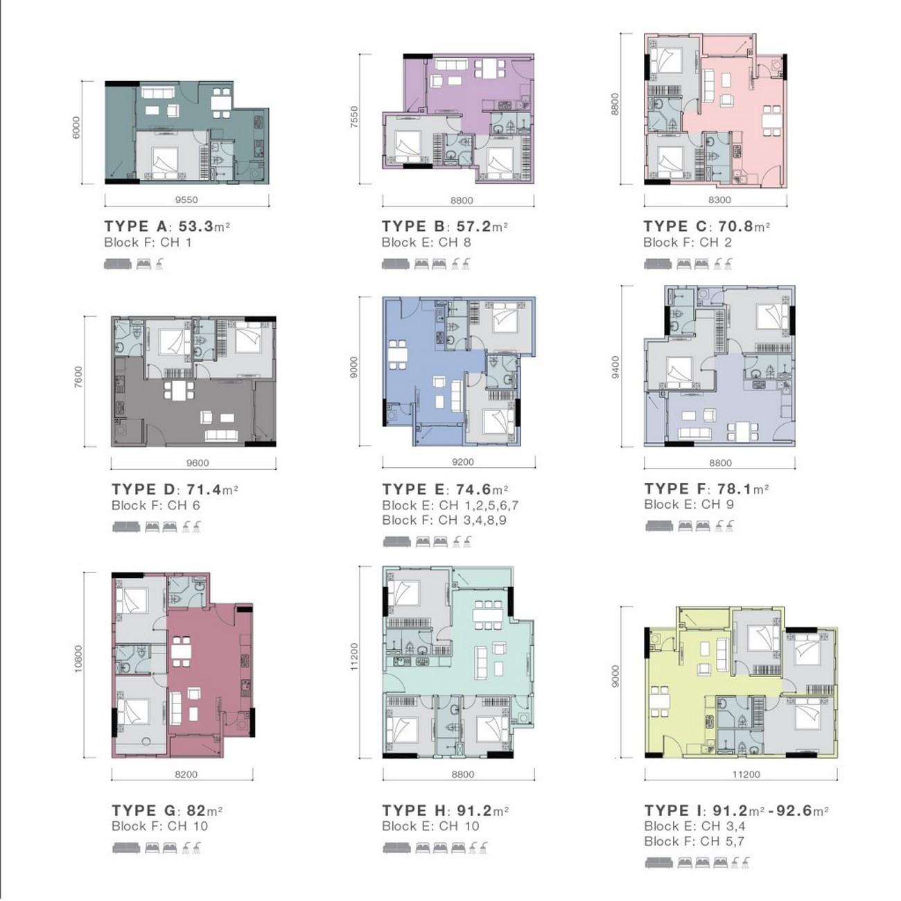 Thiết kế dự án căn hộ chung cư Park Vista Nhà Bè Đường Nguyễn Hữu Thọ chủ đầu tư Đông Mê Kông