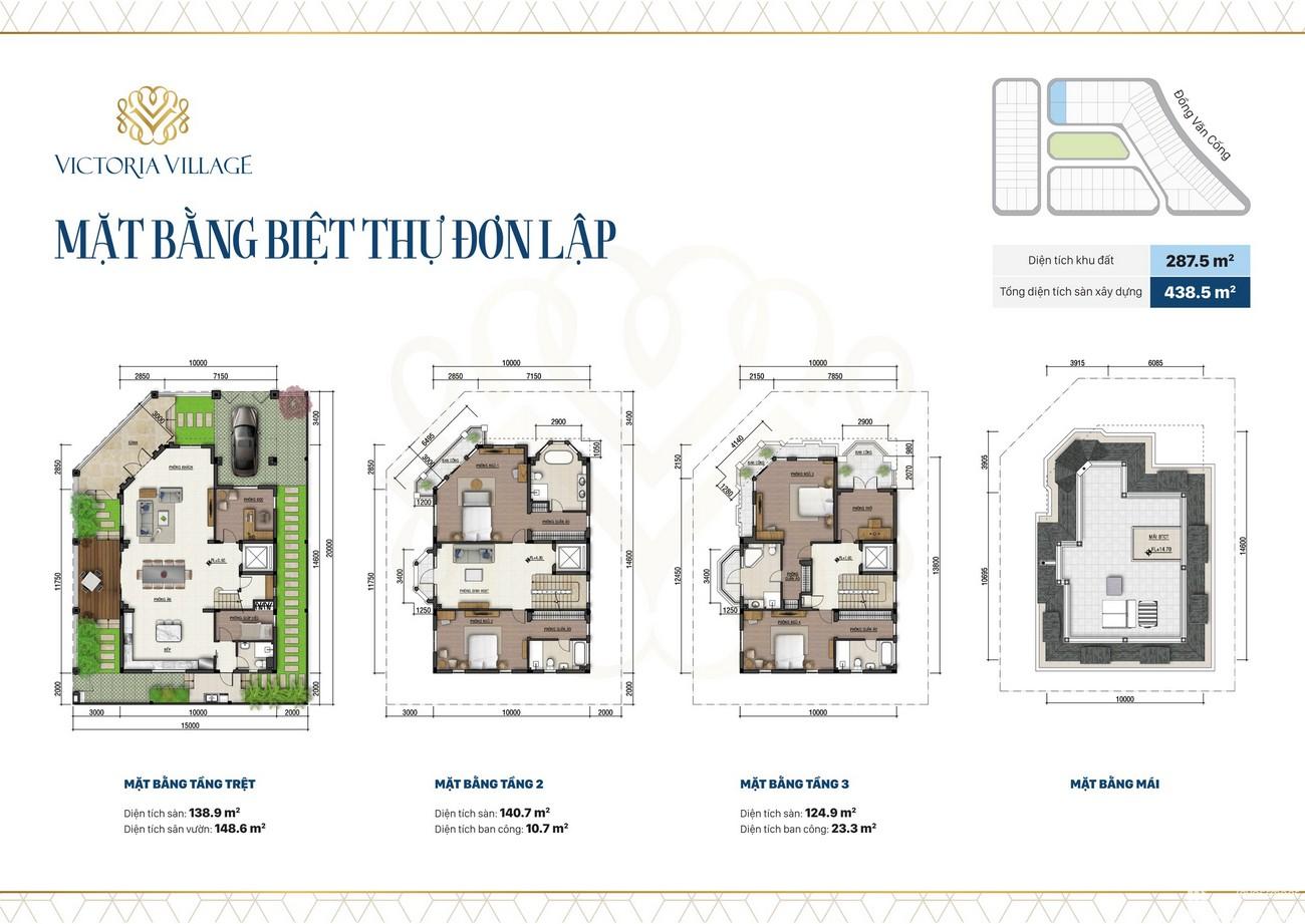 Thiết kế dự án căn hộ chung cư Victoria Village Quận 2 Đường Đồng Văn Cống chủ đầu tư Novaland