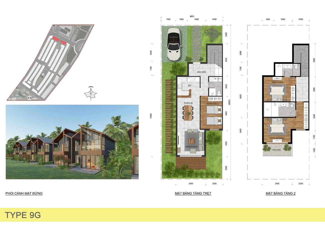 Thiết kế dự án nhà phố Novaworld Bình Tiên chủ đầu tư Novaland