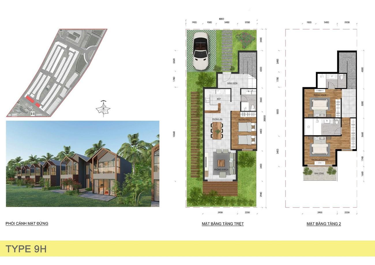 Thiết kế dự án Nhà phố Biệt thự Novaworld Đà Lạt Lâm Đồng chủ đầu tư Novaland