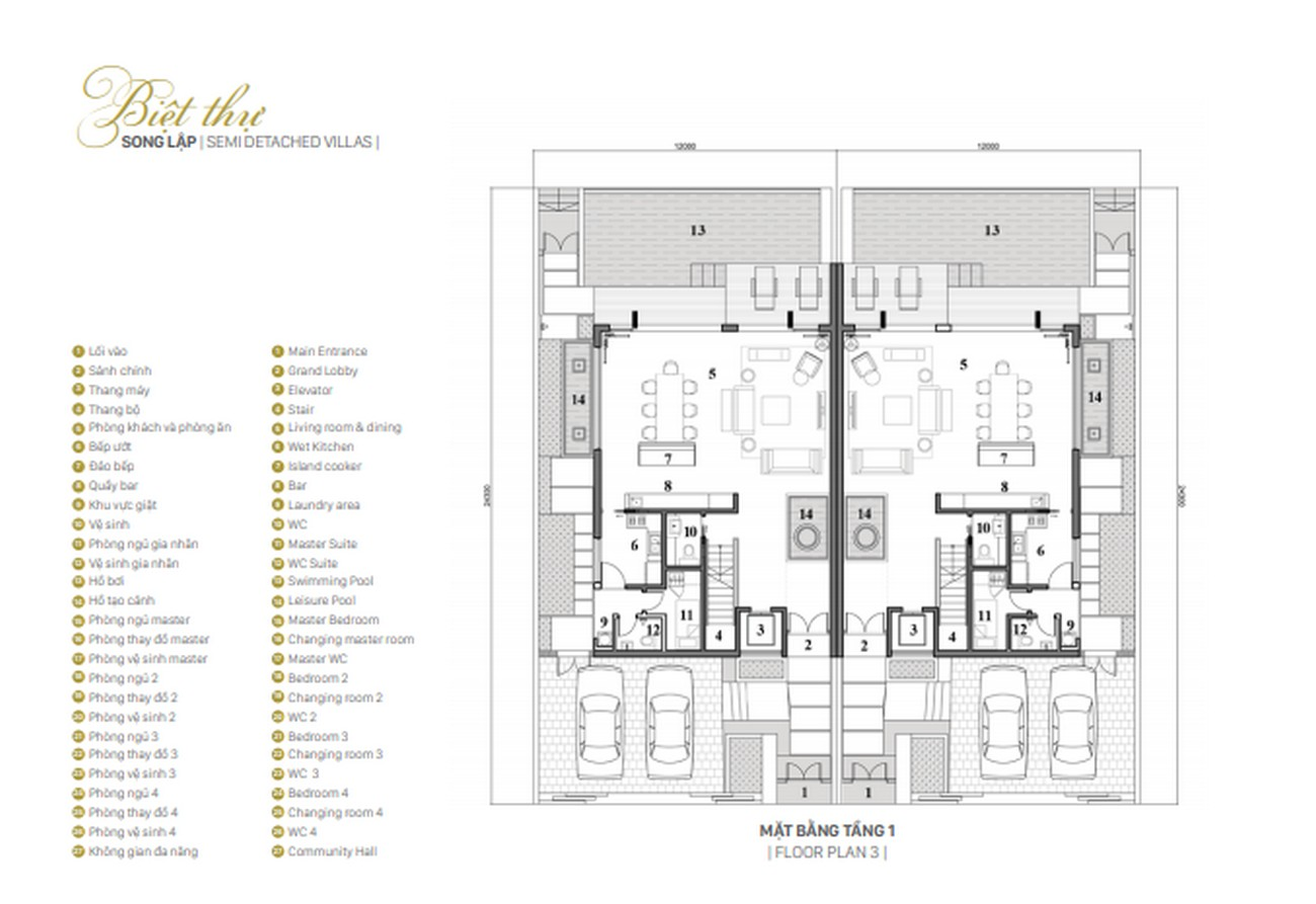 Thiết kế dự án nhà phố Lavila De Rio Nhà Bè Đường Nguyễn Hữu Thọ chủ đầu tư Kiến Á
