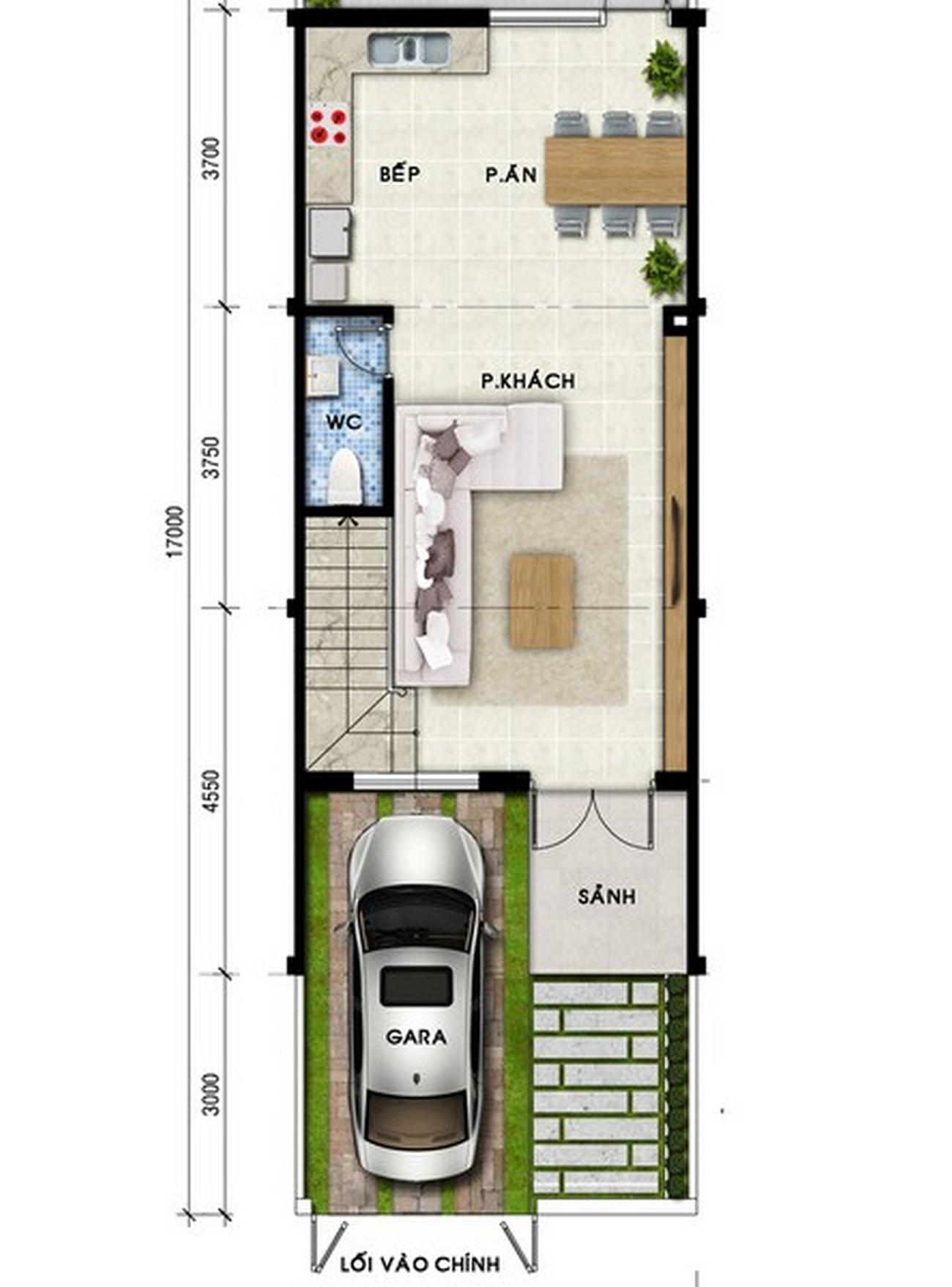 Thiết kế dự án nhà phố Mega Village Quận 9 Đường Vành Đai Trong chủ đầu tư Khang Điền