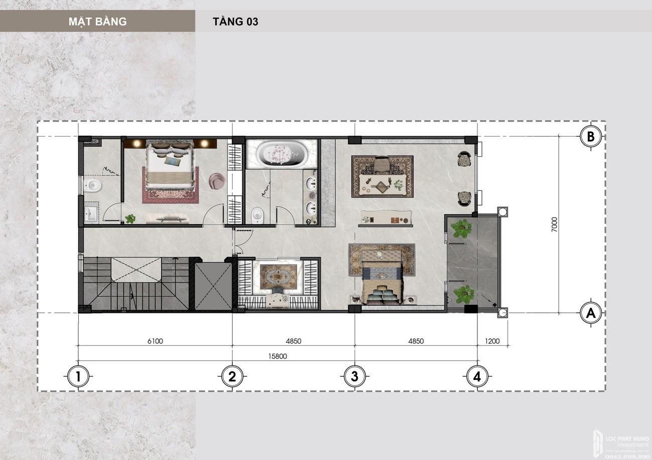 Thiết kế Shop Villa Vạn Phúc City Quận Thủ Đức Đường Quốc lộ 13 chủ đầu tư Vạn Phúc Group