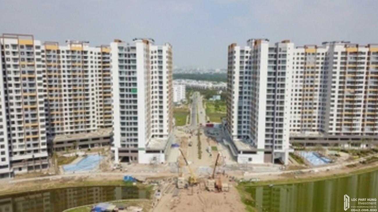 Tiến độ xây dựng dự án căn hộ chung cư Mizuki Park Bình Chánh tháng 12/2019