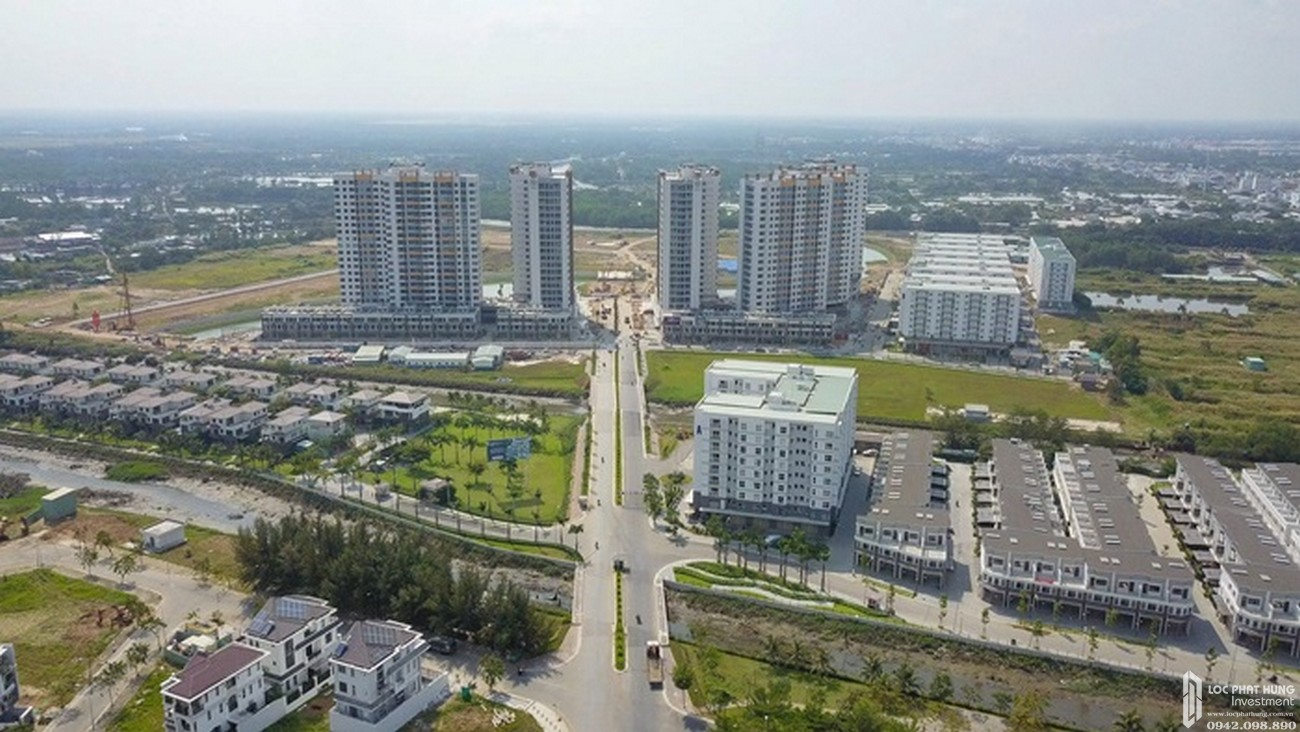 Tiến độ dự án căn hộ chung cư Mizuki Park Bình Chánh Đường Nguyễn Văn Linh chủ đầu tư Nam Long