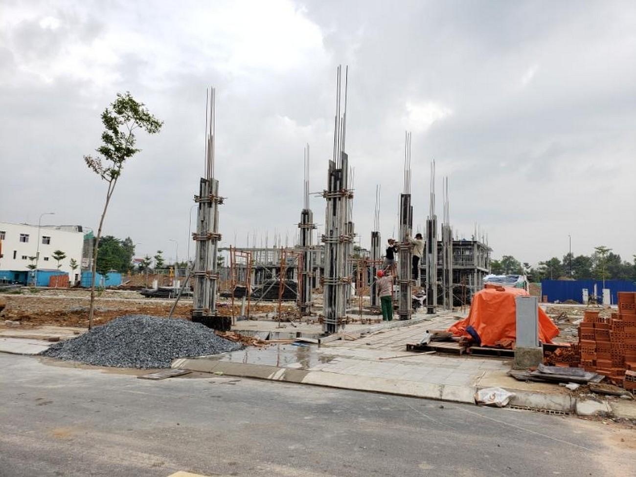 Tiến độ dự án đất nền nhà phố Icon Central Dĩ An Bình Dương chủ đầu tư Phú Hồng Thịnh 30/06/2020