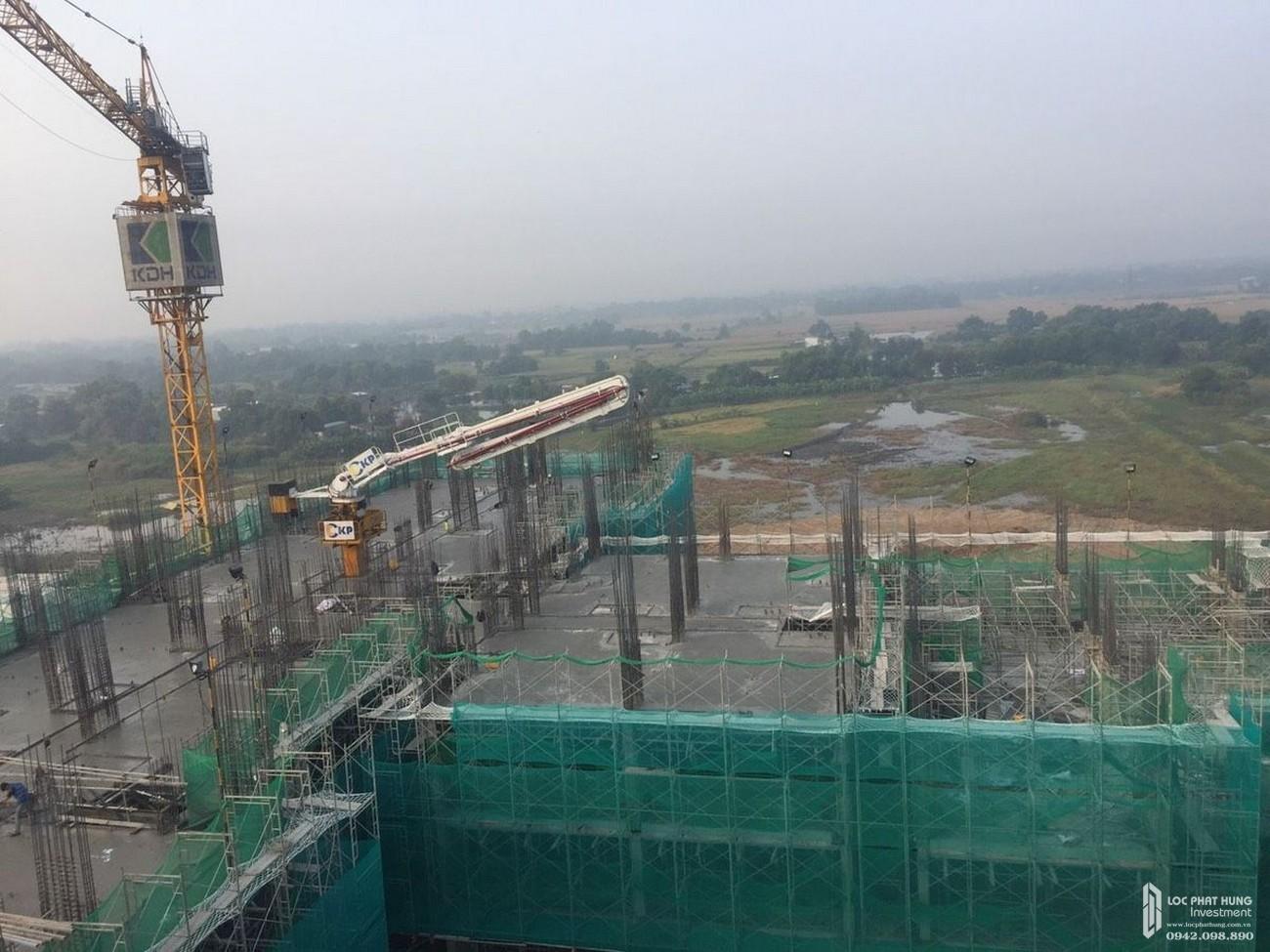 tiến độ xây dựng dự án căn hộ Lovera Vista tháng 01/2020