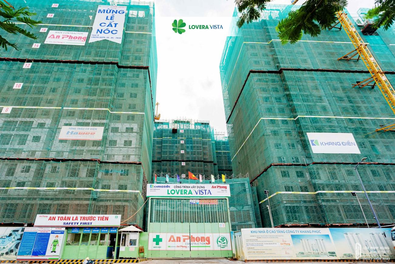 Tiến độ xây dựng dự án căn hộ Lovera Vista tháng 06/2020
