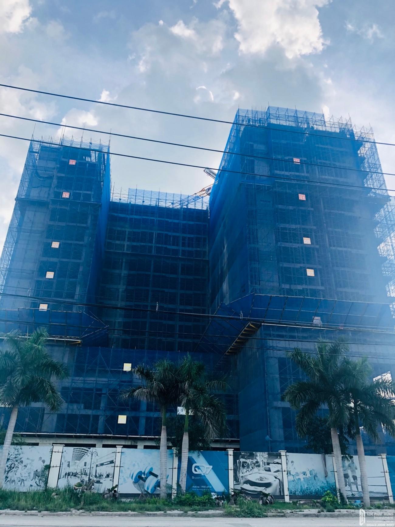 Tiến độ xây dựng dự án căn hộ Q7 Sài Gòn Riverside Complex 07/2020