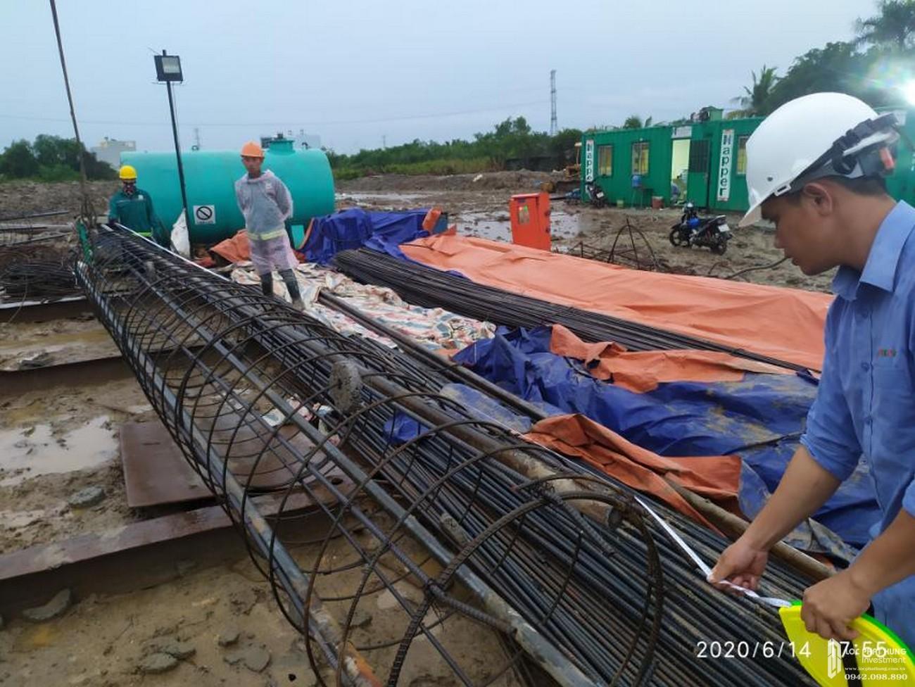Tiến độ xây dựng dự án căn hộ La Partenza 06/2020