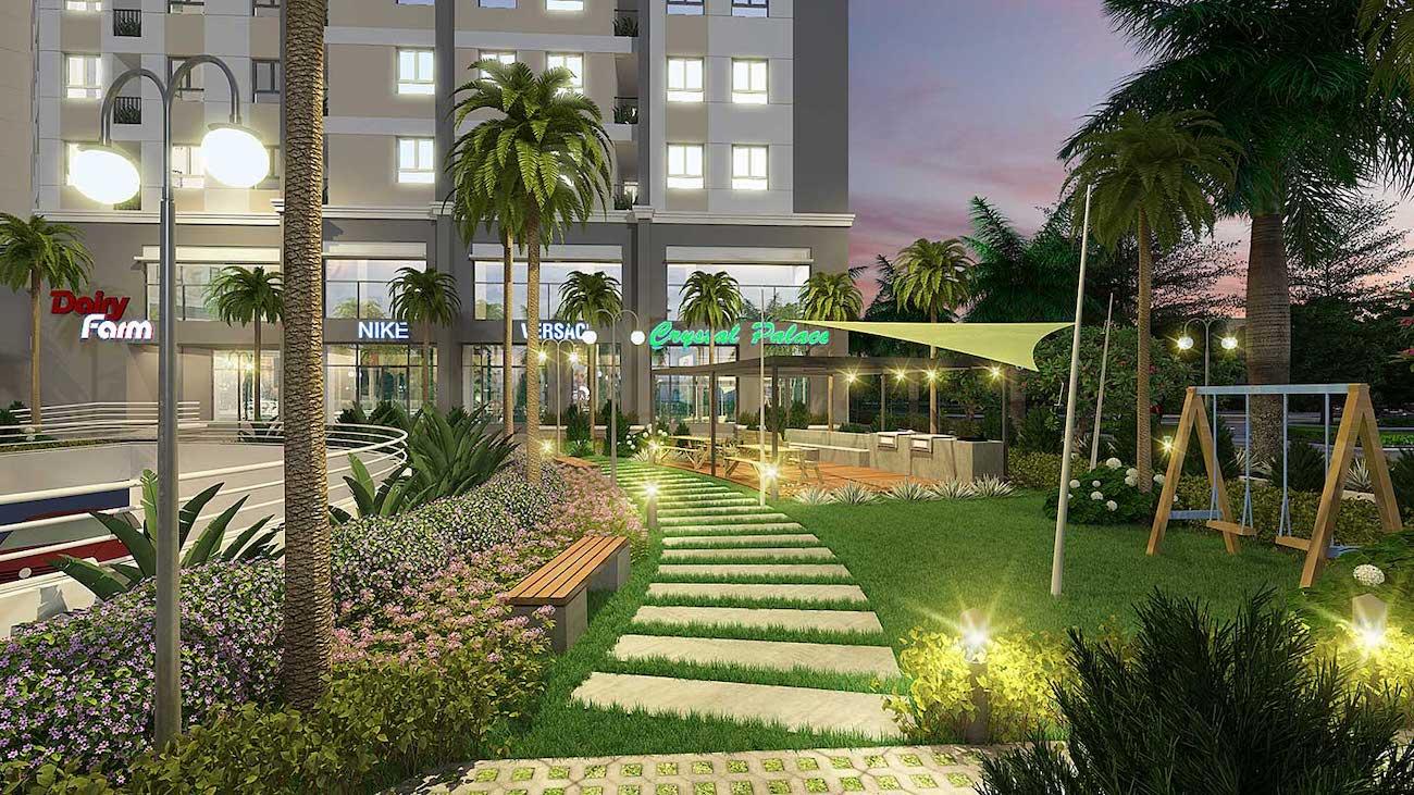 Tiện ích dự án căn hộ chung cư Sài Gòn Intela Bình Chánh Đường 13E Nguyễn Văn Linh chủ đầu tư LDG Group