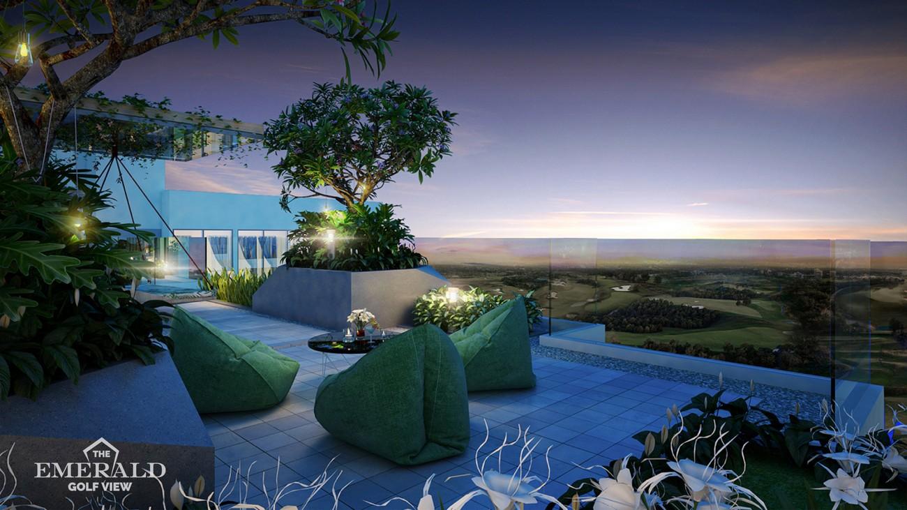 Tiện ích dự án căn hộ chung cư The Emerald Golf View Bình Dương