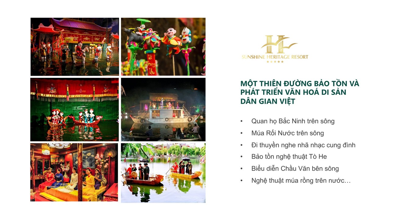 Tiện ích dự án Resort Sunshine Heritage Hà Nội Phúc Thọ, Xuân Phú chủ đầu tư Sunshine Group