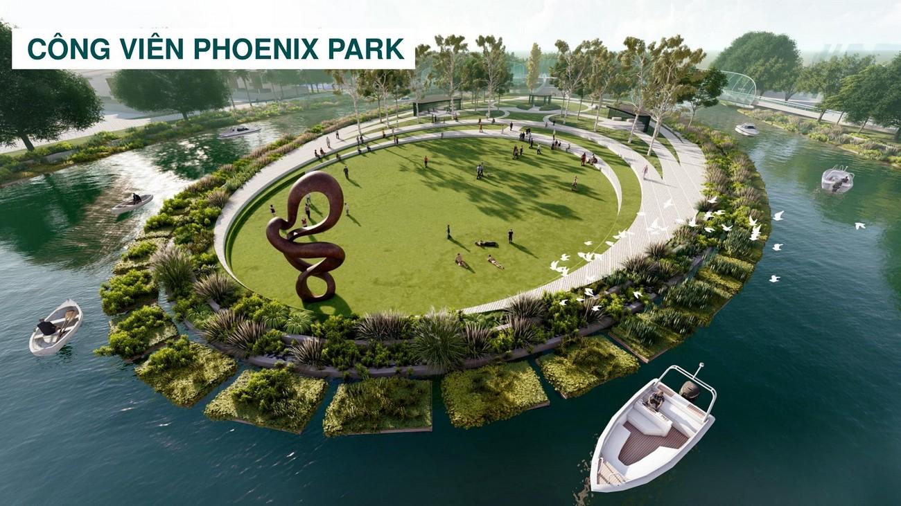 Tiện ích dự án The Phoenix South - Đảo Phụng Hoàng Biên Hòa Đồng Nai chủ đầu tư NovaLand