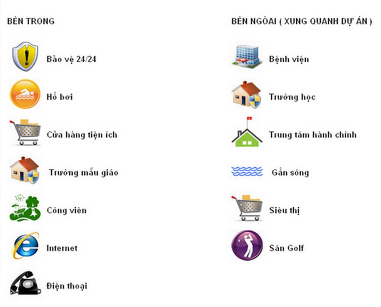 Tiện ích dự án nhà phố Hoja Villa Quận 9 chủ đầu tư Khang Điền