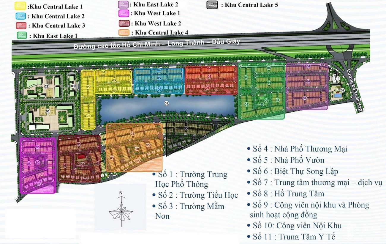 Tiện ích dự án nhà phố Lakeview City Quận 2 Đường Cao tốc Long Thành - Dầu Giây chủ đầu tư NovaLand
