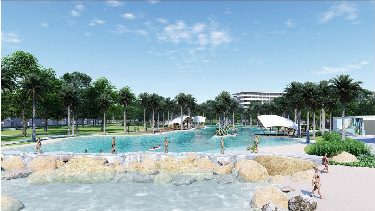 Tiện ích dự án nhà phố Novaworld Hồ Tràm Bình Châu chủ đầu tư Novaland